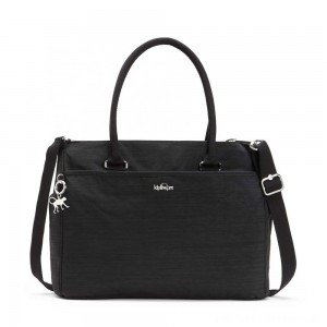Kipling ARTEGO ESSENTIAL Shoulder Bag with Laptop Protection Dazz Black