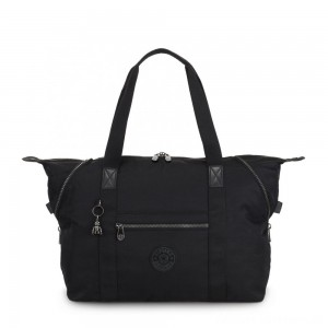 Kipling ART M Multi-use medium tote with trolley sleeve Rich Black