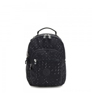 Kipling SEOUL S Small Backpack with Tablet Compartment Tile Print