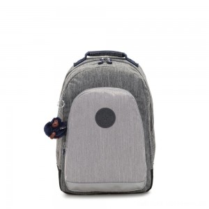Black Friday 2020 - Kipling CLASS ROOM Large backpack with laptop protection Ash Denim Bl