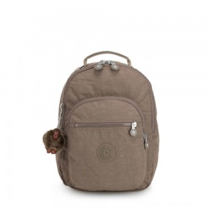 Black Friday 2020 - Kipling CLAS SEOUL S Backpack with Tablet Compartment True Beige