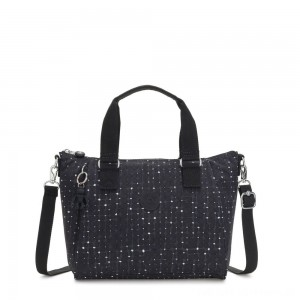 Black Friday 2020 - Kipling AMIEL Medium Handbag Tile Print