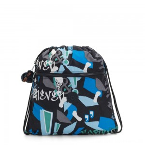Kipling SUPERTABOO Medium Drawstring Bag Epic Boys