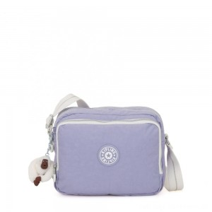 Black Friday 2020 - Kipling SILEN Small Across Body Shoulder Bag Active Lilac Bl