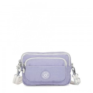 Black Friday 2020 - Kipling MULTIPLE Waist Bag Convertible to Shoulder Bag Active Lilac Bl