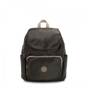 Black Friday 2020 - Kipling HANA Large Backpack with Front Pocket Delicate Black