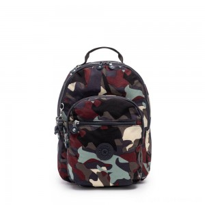 Black Friday 2020 - Kipling SEOUL S Small Backpack with Tablet Compartment Camo Large