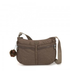 Kipling IZELLAH Medium Across Body Shoulder Bag True Beige
