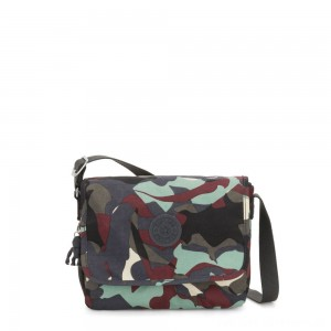 Black Friday 2020 - Kipling NITANY Medium Crossbody Bag Camo Large