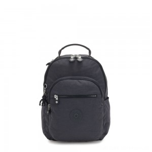 Black Friday 2020 - Kipling SEOUL S Small Backpack with Tablet Compartment Night Grey
