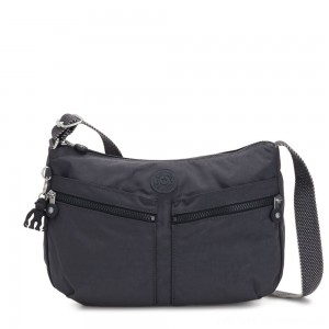 Black Friday 2020 - Kipling IZELLAH Medium Across Body Shoulder Bag Night Grey