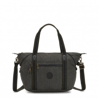 Kipling ART Handbag Black Indigo