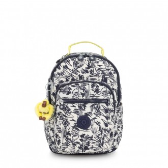 Black Friday 2020 - Kipling SEOUL GO S Small Backpack Scribble Fun Bl