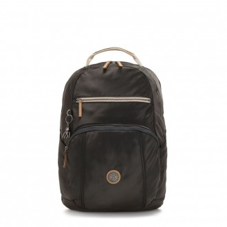 Black Friday 2020 - Kipling TROY Large Backpack with padded laptop compartment Delicate Black