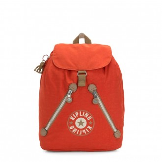 Black Friday 2020 - Kipling FUNDAMENTAL Medium backpack Funky Orange Block