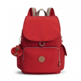 Black Friday 2020 - Kipling CITY PACK ESSENTIAL Backpack True Red C