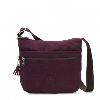 Black Friday 2020 - Kipling ARTO Shoulder Bag Across Body Dark Plum