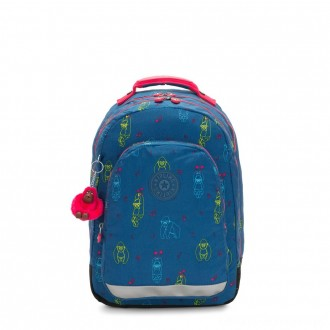 Black Friday 2020 - Kipling CLASS ROOM Large backpack with laptop protection Rocking Monkey