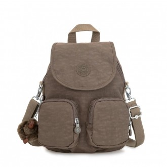 Black Friday 2020 - Kipling FIREFLY UP Small Backpack Covertible To Shoulder Bag True Beige