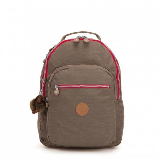 Black Friday 2020 - Kipling CLAS SEOUL Large backpack with Laptop Protection True Beige C