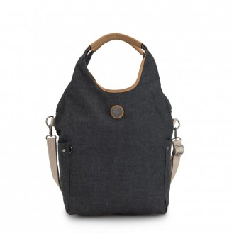 Black Friday 2020 - Kipling URBANA Hobo Bag Across Body With Removable Shoulder Strap Casual Grey