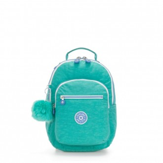 Black Friday 2020 - Kipling SEOUL GO S Small Backpack Deep Aqua C