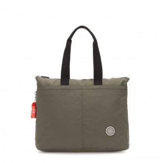Black Friday 2020 - Kipling CHIKA Large tote bag with laptop protection Cool Moss