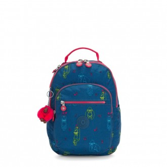 Black Friday 2020 - Kipling SEOUL S Small backpack with tablet protection Rocking Monkey