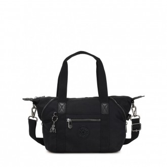 Kipling ART MINI Mini Tote Bag with Detachable Shoulder Strap Rich Black