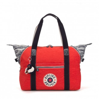 Black Friday 2020 - Kipling ART M Travel Tote With Trolley Sleeve Active Red Bl