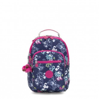 Black Friday 2020 - Kipling D SEOUL GO S Small Backpack with tablet protection Doodle Blue