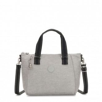Kipling AMIEL Medium Handbag Chalk Grey