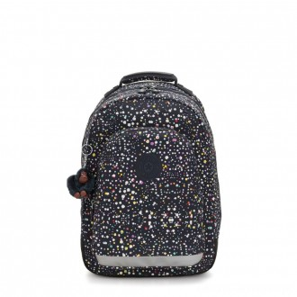 Kipling CLASS ROOM Large backpack with laptop protection Happy Dot Print