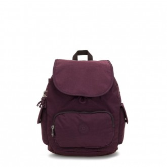 Kipling CITY PACK S Small Backpack Dark Plum