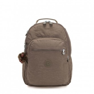 Black Friday 2020 - Kipling CLAS SEOUL Large backpack with Laptop Protection True Beige