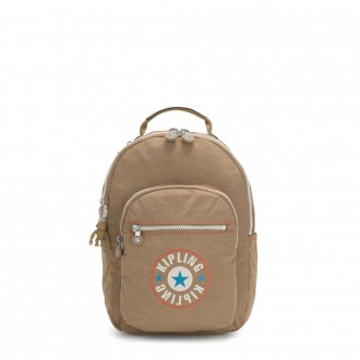 Black Friday 2020 - Kipling SEOUL S Small Backpack with Tablet Compartment Sand Block