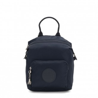 Kipling NALEB Small Backpack with tablet sleeve True Blue Twill