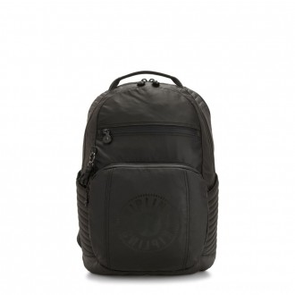Black Friday 2020 - Kipling TROY EXTRA Large Backpack with Removable Chest Pocket Raw Black