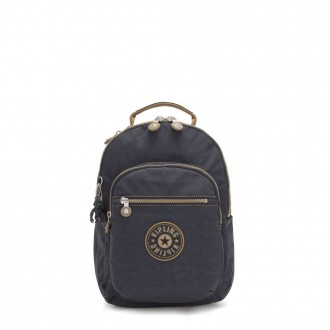 Black Friday 2020 - Kipling SEOUL S Small Backpack with Tablet Compartment Night Grey Block