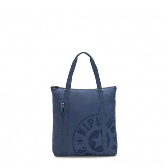 Black Friday 2020 - Kipling MORAL Large Tote Bag with Shoulder strap Soulfull Blue