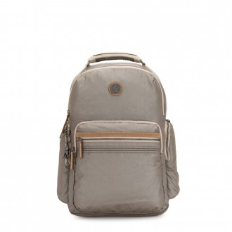 Black Friday 2020 - Kipling OSHO Large backpack with organsiational pockets Fungi Metal