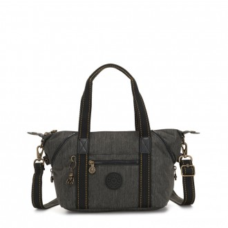 Kipling ART MINI Handbag Black Indigo