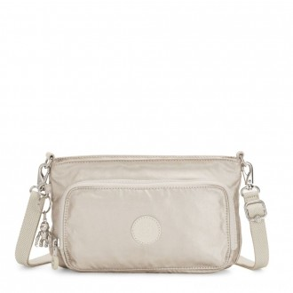 Black Friday 2020 - Kipling MYRTE Small 2 in 1 Crossbody and Pouch Cloud Metal