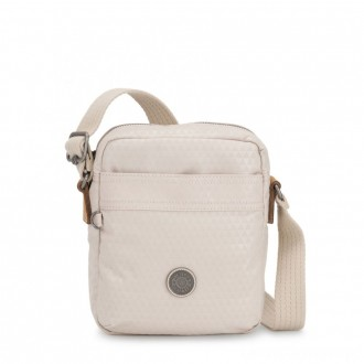 Black Friday 2020 - Kipling HISA Small Crossbody bag with front magneic pocket Triangle White