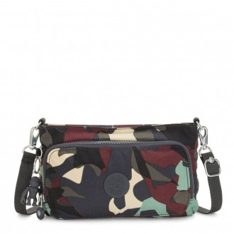 Black Friday 2020 - Kipling MYRTE Small 2 in 1 Crossbody and Pouch Camo Large
