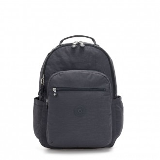 Black Friday 2020 - Kipling SEOUL Large backpack with Laptop Protection Night Grey