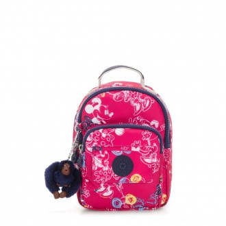 Black Friday 2020 - Kipling D ALBER Small 3-in-1 convertible: bum bag, crossbody or backpack Doodle Pink
