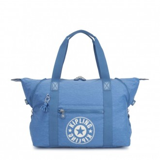 Black Friday 2020 - Kipling ART M Medium Tote Bag with 2 Front Pockets Dynamic Blue