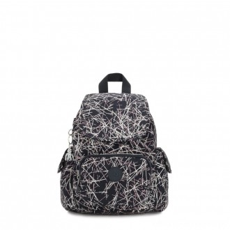 Kipling CITY PACK MINI City Pack Mini Backpack Navy Stick Print