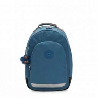 Kipling CLASS ROOM Large backpack with laptop protection Mystic Blue